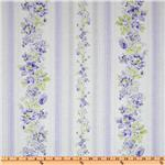 FC-920 Treasures by Shabby Chic Floral Stripes Lilac