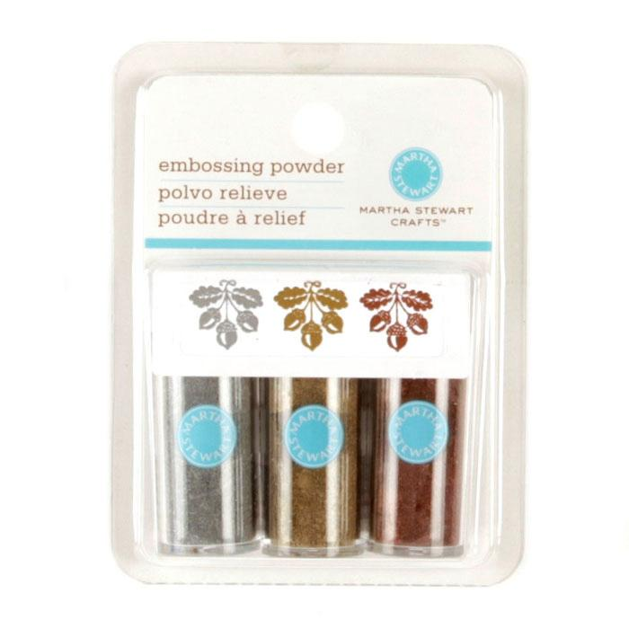 Martha Stewart Crafts Essentials Embossing Powder Metallic