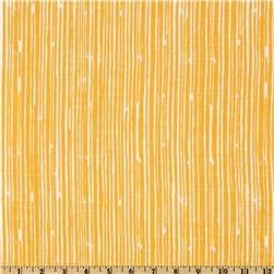 Premier Prints Scribble Stripe Slub Corn Yellow