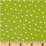 Loralie Designs Hey Cupcake Pretty Dots Green