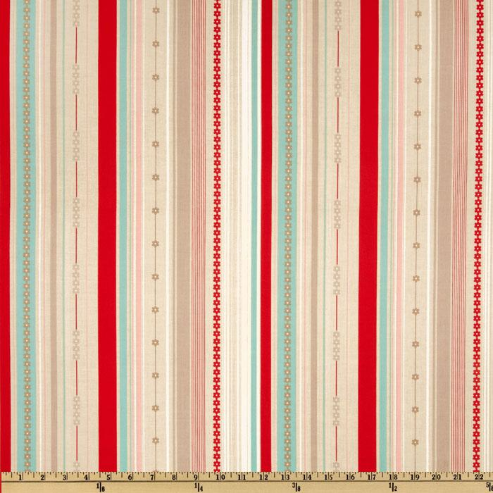 Millie's Closet Stripe Red