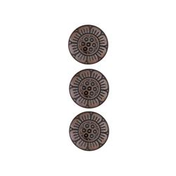 Dill Buttons 1/2'' Full Metal Button Copper