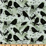 Nature's Walk Birds Black/Green