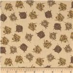 Geometric Squares Khaki