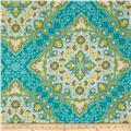 Joel Dewberry Notting Hill Sateen Kaleidoscope Basil