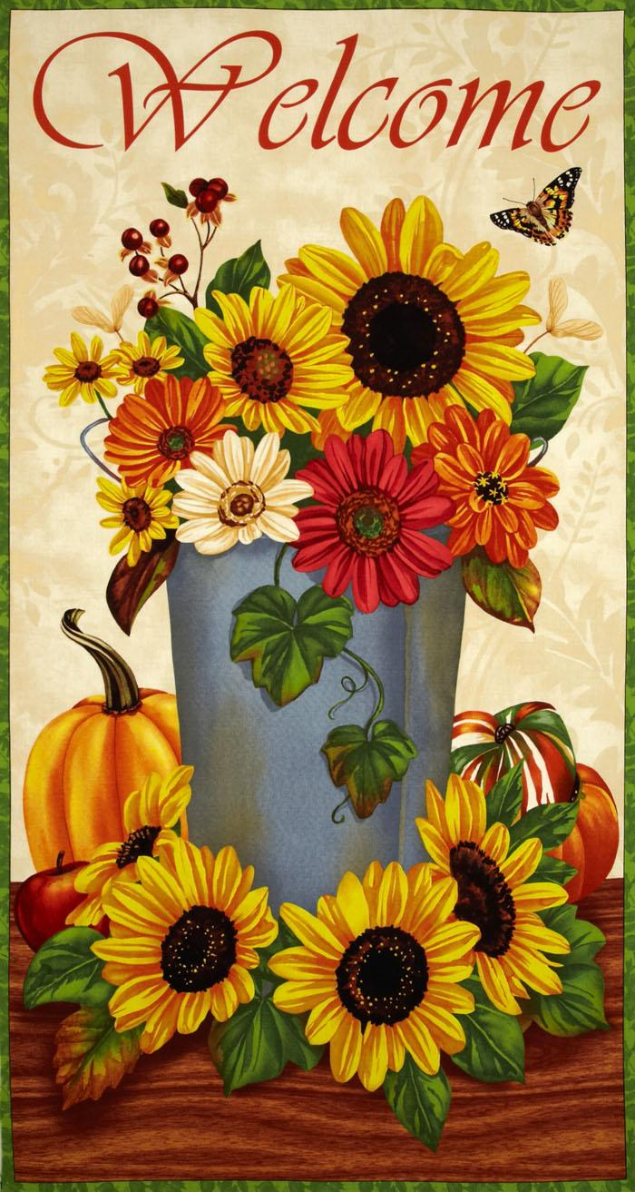 Harvest Abundance Craft Panel Multi