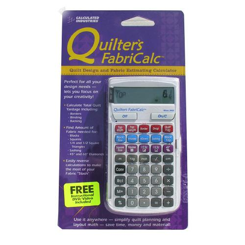 Quilter&#39;s FabriCalc Calculator