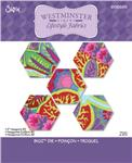 "Sizzix Bigz Die 2"" Hexagons #2"