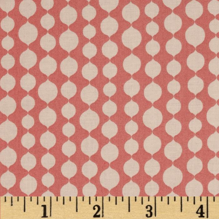 Full Moon Lagoon Dots Pink/White