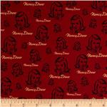 Moda Get A Clue With Nancy Drew Signature Red