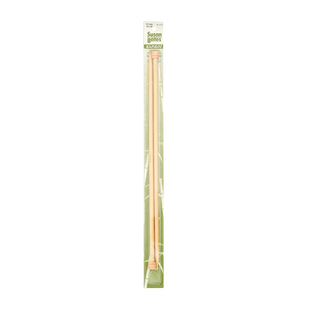 "Bates 13"" Bamboo Single Point Knitting Needle Size 10.5"