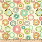 Covington Starburst Pinwheel Ivory