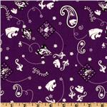 ET-409 Collegiate Cotton Broadcloth Kansas State University Bandana Purple