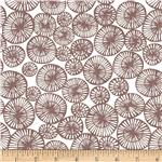 Feather N Stitch Medallions Brown