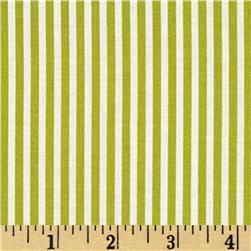 Moda Marmalade Stripe Leaf Green