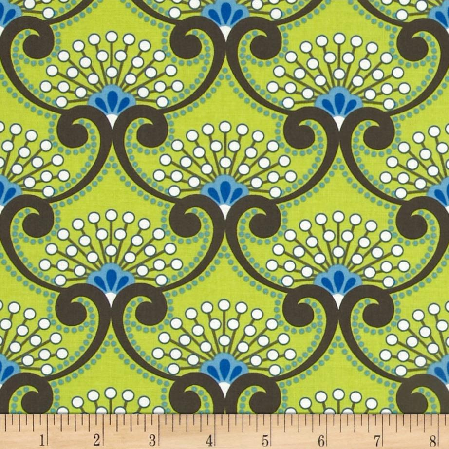Moonstruck Scroll Green