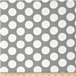Gray Matters Jumbo Dot Grey