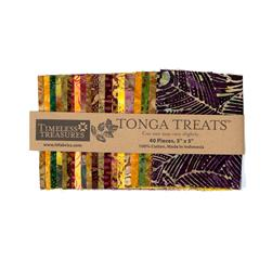 "Tonga Batik Harvest  5"" Mini Treat"