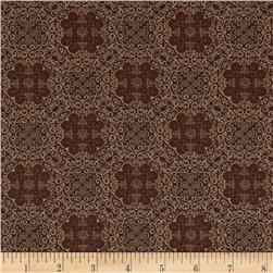 Kanvas Bella Morocco Medallion Brown