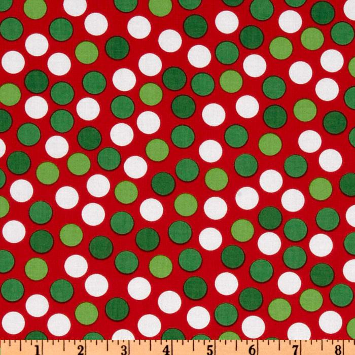 Remix Dots Crimson