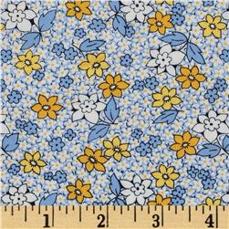 Aunt Grace Miniatures Large Floral Yellow
