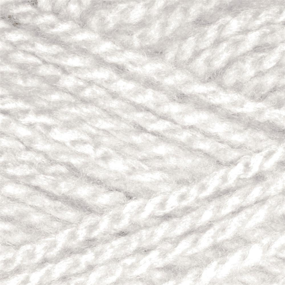 Lion Brand Jiffy Yarn (100) White