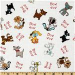 FP-403 Puppy Park Dogs Cream