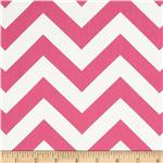 0292791 Premier Prints Sheeting Zig Zag Candy Pink