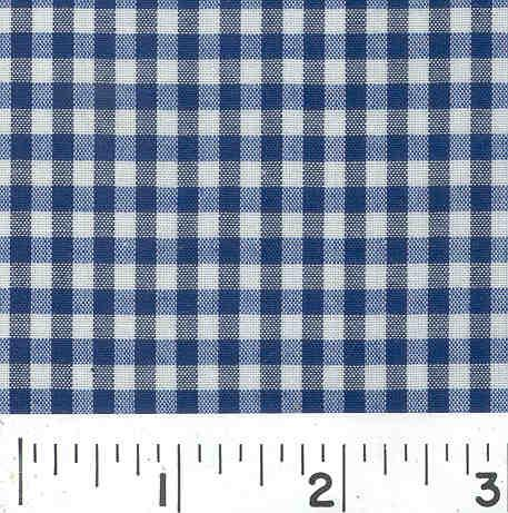 Woven 1/8 Gingham Navy