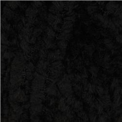 Lion Brand Luxe Fur Yarn (153) Onyx