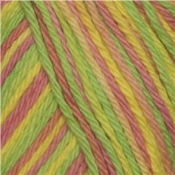 Peaches & Creme Variegated Yarn (171) Pink Lemonade