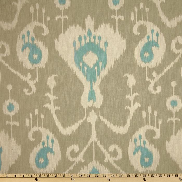 Magnolia Home Fashions Java Ikat Driftwood