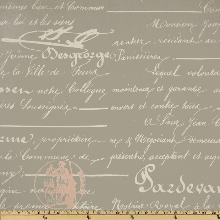 Premier Prints Twill Penmanship Storm/Bella