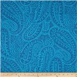 AfterGlow Paisley Blue