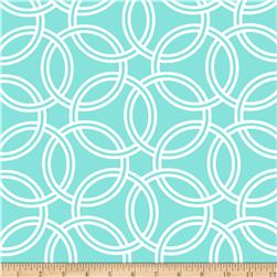 Michael Miller Bekko Home Decor Swirl Aqua