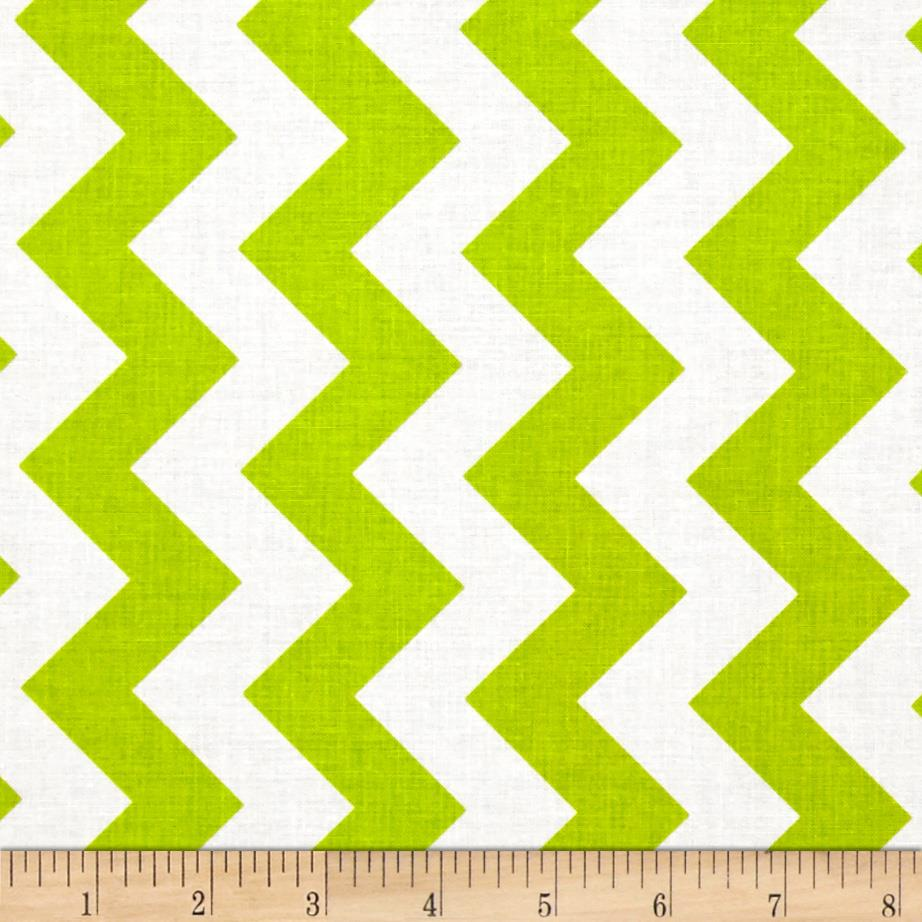 Riley Blake Medium Chevron Lime