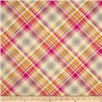 Joel Dewberry Notting Hill Sateen Tartan Pink