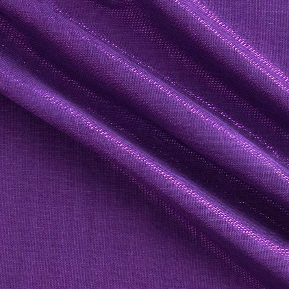Bejeweled Metallic Shot Cotton Purple