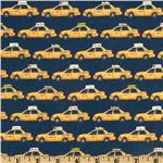 211062 NYC New York Taxis Blue