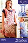 IJP-879 Indigo Junction All Day Apron Pattern