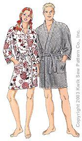 Kwik Sew Learn to Sew Robe Pattern