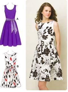 Kwik Sew Sleeveless Dresses Pattern