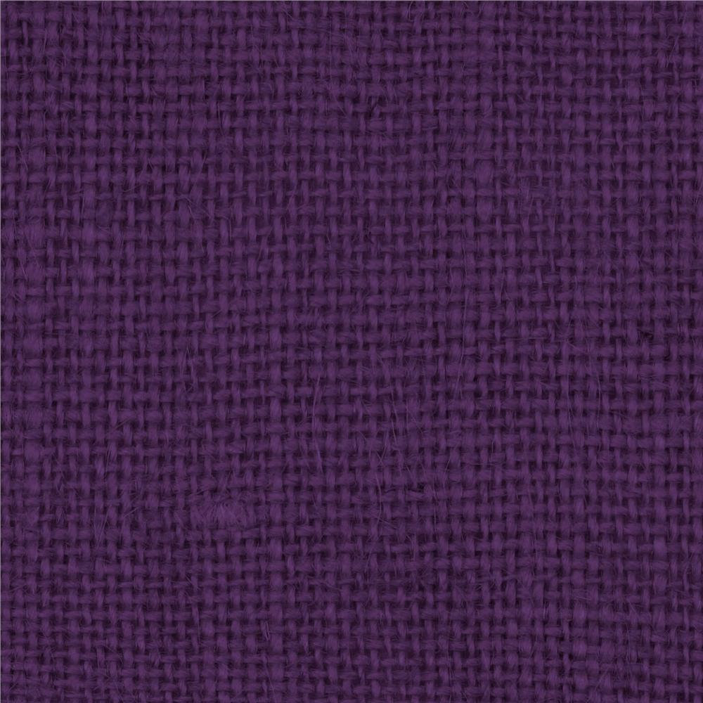 Burlap Purple