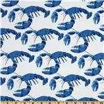 FR-610 Michael Miller Shore Thing Lobster Pot Blue