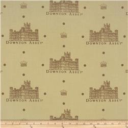 Downton Abbey Crest Tan