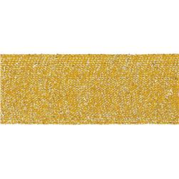 "Team Spirit 1-1/2"" Solid Trim Metallic Gold"
