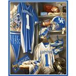 DJ-166 Collegiate Locker Room Fleece Panel University Of Kentucky