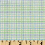 Sweet Tweet Plaid Blue/Green