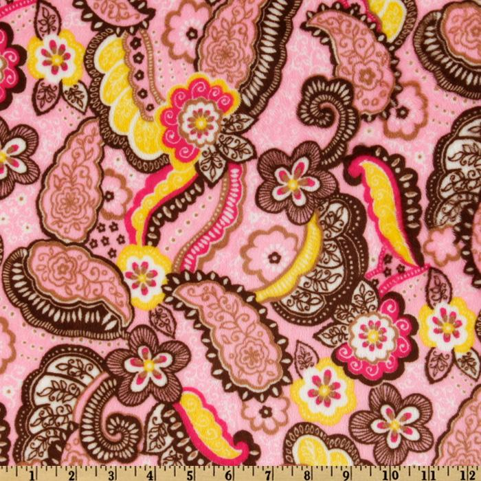 Robert Kaufman Cuddle Asian Paisley Passion