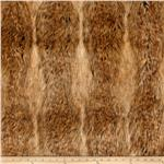 239537 Faux Fur Canadian Fox Fur Honey